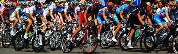 Photo prise à 's-Heer Hendrikskinderen, Zélande, Pays-Bas, Tour de France 2010